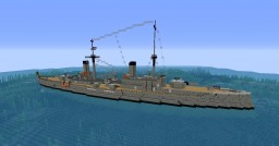 Italian cruiser San Giorgio Minecraft Map & Project