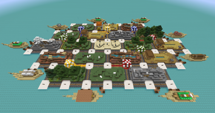 1 14 X Pioneer Of Minecraff Island Respects Catan Game Minecraft Map