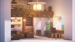 Cozy Indoor Garden Loft Minecraft Map & Project