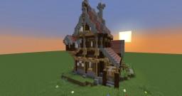 Mittelalterliche Taverne Minecraft Map & Project