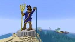 Poseidon Statue Minecraft Map & Project