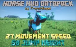 Horse HUD Datapack V1.2 (Lag Fixed!) | Vanilla 1.14 Minecraft Data Pack