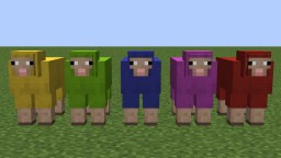 Fully Colored Sheep (Optifine) Minecraft Texture Pack