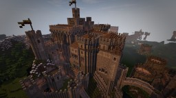 CABEDOROCK MEDIEVAL CASTLE FORTRESS KEEP Minecraft Map & Project