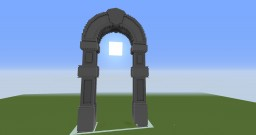 Giant Gate Minecraft Map & Project