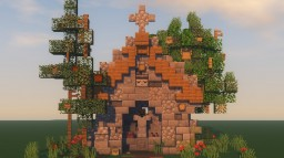 Medieval Shrine Minecraft Map & Project