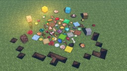 .too large items Minecraft Texture Pack