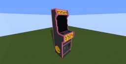 Large Arcade Machine Minecraft Map & Project
