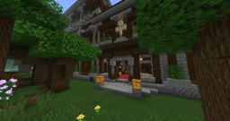 Fancier Mansions Minecraft Data Pack