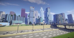 Los  Angeles City Minecraft Map & Project