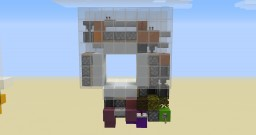 3x3 Spiral Door Faster than Supercharged Minecraft Map & Project
