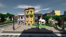 Highschool City Minecraft Map & Project