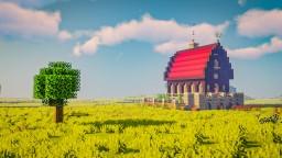 A peaceful farmhouse Minecraft Map & Project