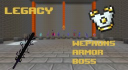 Legacy datapack Rare weapons, craft-able armor, and bosses (ROOT OF DESOLATION UPDATE!) Minecraft Data Pack