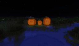 Three Little Pumpkin Jack o' Lanterns Minecraft Map & Project