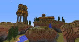 Orange hills Minecraft Map & Project
