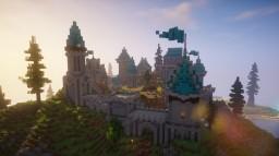 Multiplayer Island Base   Minecraft Build Timelapse Minecraft Map & Project