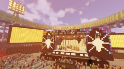 Live AID (wembley stadium) Minecraft Map & Project