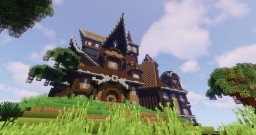 Enchanted Witch House Minecraft Map & Project