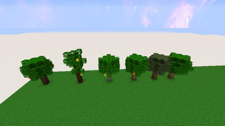 V2.1 changed tree models