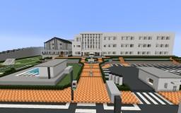 Samgladiator Yandere High School (1.7.10) (UPDATE) Minecraft Map & Project