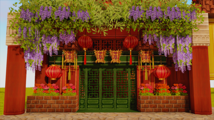 Chinese and Japanese textures are also contained!