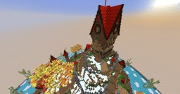 Creative Floating Island Minecraft Map & Project