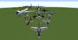 McHelicopter   Modern warfare pack + coldwar for mcheli 1.0.4    MC 1.7.10 Minecraft Mod