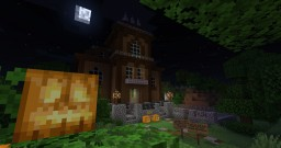 Spooky Halloween Special house! (Can you find the secret inside?) Minecraft Map & Project