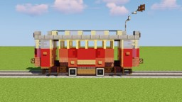 20th Century Tram Minecraft Map & Project