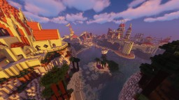 The Alabaster Bastion of the Algheriai Province Minecraft Map & Project