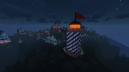 Simple Lighthouse Minecraft Map & Project