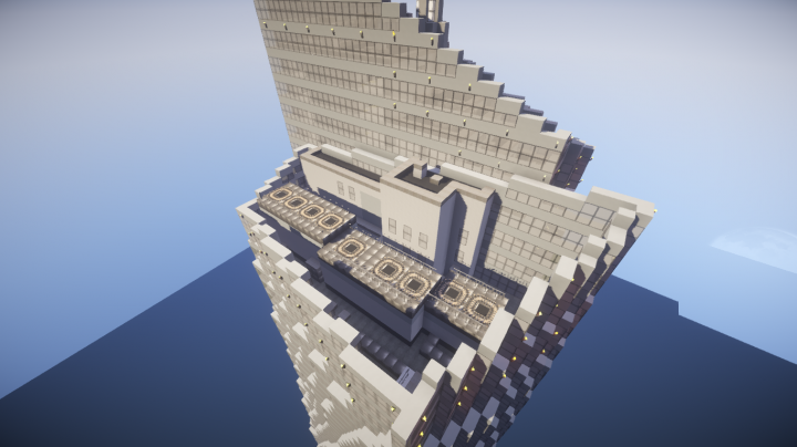 Bank Of America Tower, New York USA Minecraft Map