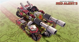 Apocalypse tank | C&C Red Alert 3 Minecraft Map & Project