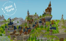A peaceful town in the mountains Minecraft Map & Project