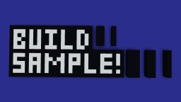 Build Samples | by Nitgo | V.4 Minecraft Map & Project