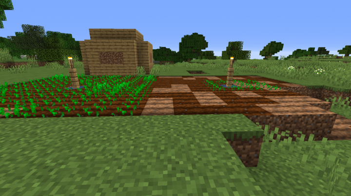 Popular Server Project : The Great Wheat Plains