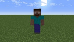 Herobrine Boss Minecraft Mod