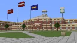 Suburban High School 1 Minecraft Map & Project