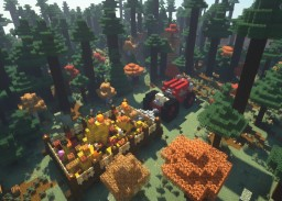 Halloween Hayride at Prestigious MC Minecraft Map & Project