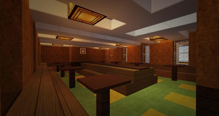 2nd class saloon