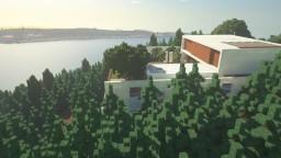 Mirindiba House - Modern Minimalist House Minecraft Map & Project