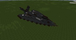 Lockheed F-117 (Scale 1.5:1) Minecraft Map & Project