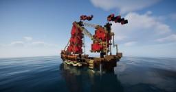 Oriental Gunship Minecraft Map & Project