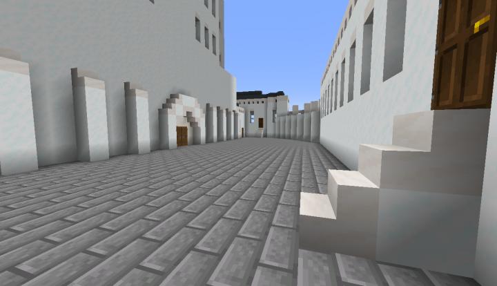Third courtyard