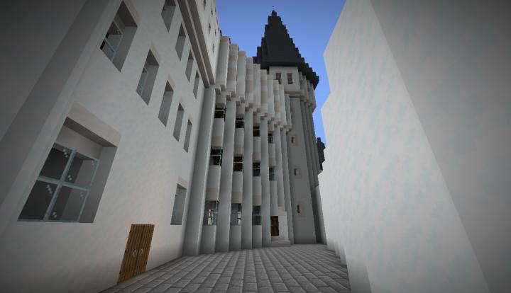 Fourth courtyard