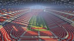 American Football Stadium Minecraft Map & Project