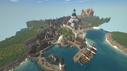 Crasburg: Huge Realistic Medieval Minecraft City Minecraft Map & Project