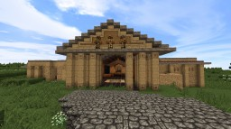 Traditional Roman Domus (City Style Villa) With Modifications Minecraft Map & Project
