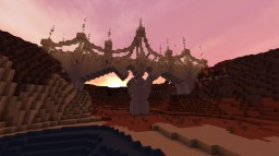 The Byzantine Fantasy Bridge (Imaginary Architectural style with an homage to Byzantine Styles) Minecraft Map & Project